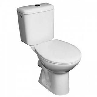 WC kombi Zeta vodorovný odpad