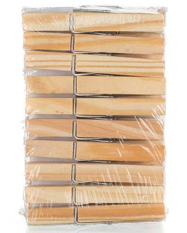 Kolíčky na prádlo dřev. 20 ks Economy 43960101