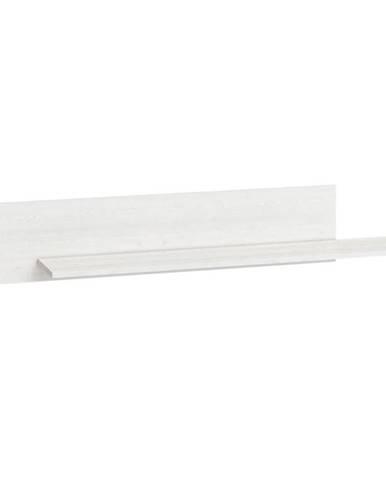 Polička Blanco 138 cm, borovice sněžná