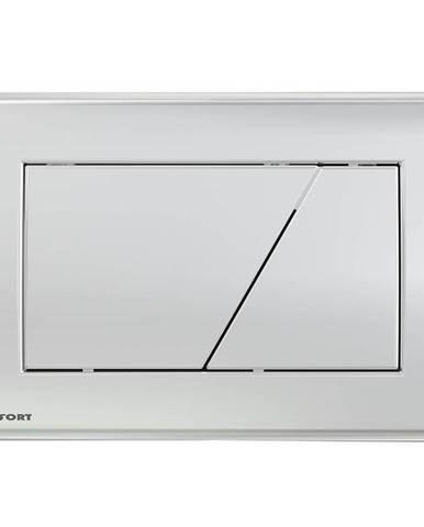 Tlačítko pro podomítkový set chrom-lesk