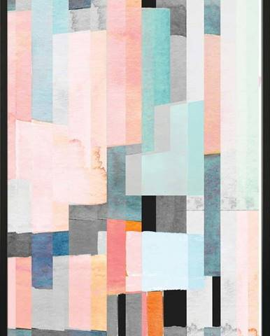 Plakát DecoKing Abstract Panels, 100 x 70 cm