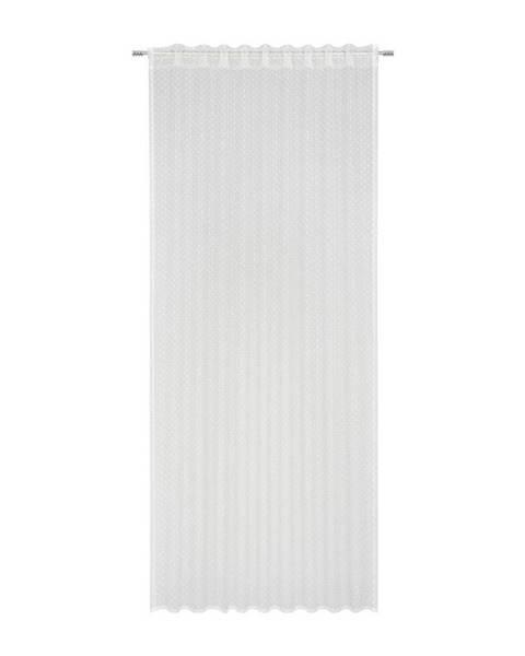 Möbelix Hotový Závěs Lea, 140/245cm, Bílá