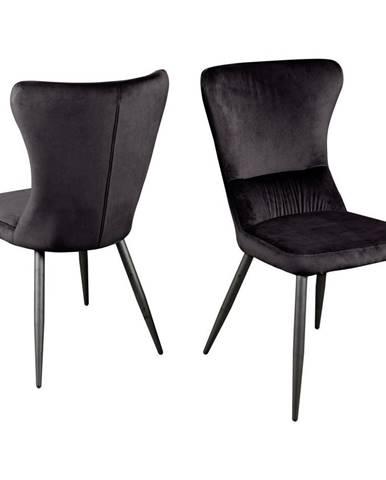 Jídelní Židle Fiona Černá