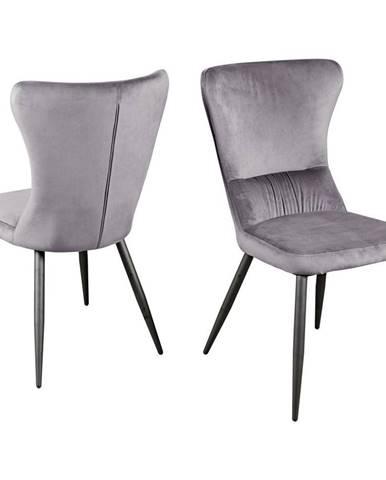 Jídelní Židle Fiona Šedá