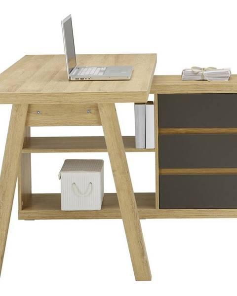Möbelix Rohový Psací Stůl RIGA
