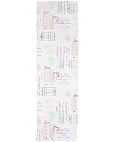 Ubrus 'běhoun' Na Stůl Romance, 45/150cm, Vícebarevné