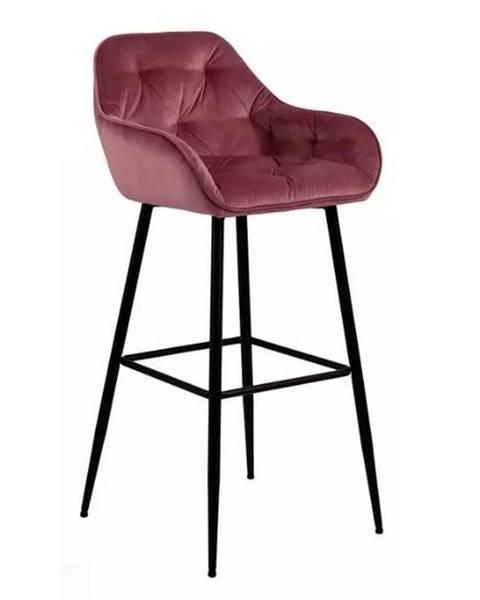 Möbelix Barová Židle Brooke Koralová