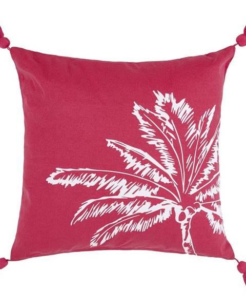 Möbelix Dekorační Polštář Diamond Palm, 45/45 Cm, Růžová