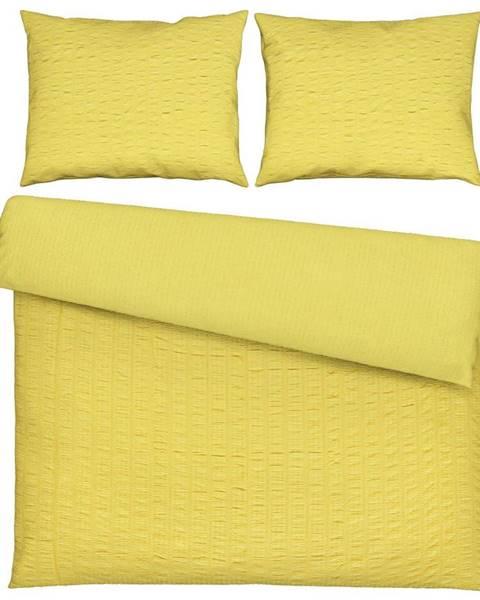 Möbelix Povlečení Betty Xxl, 200/200cm, Žlutá