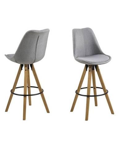 Barová Židle Dima Světle Šedá
