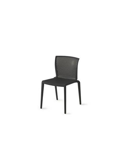 Plastová Židle Spiker Černá