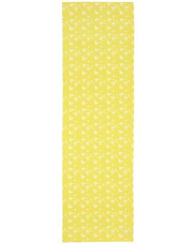 Ubrus 'běhoun' Na Stůl Lady Palms, 45/150cm, Žlutá