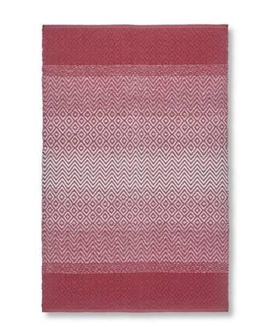 Hadrový Koberec Malta 2, 100/150cm, Červená