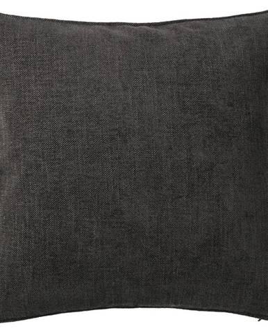 Povlak Na Polštář Mary Leinen, 48/48cm, Tm. Šedá