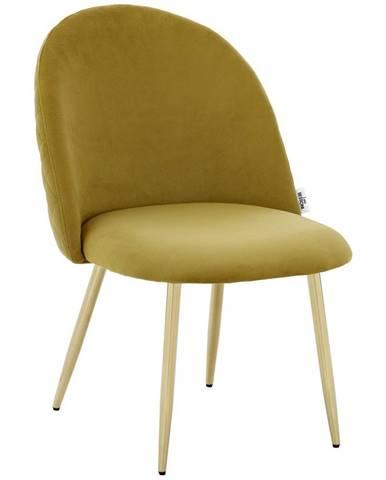 Židle Artdeco Samet Šířka 51cm