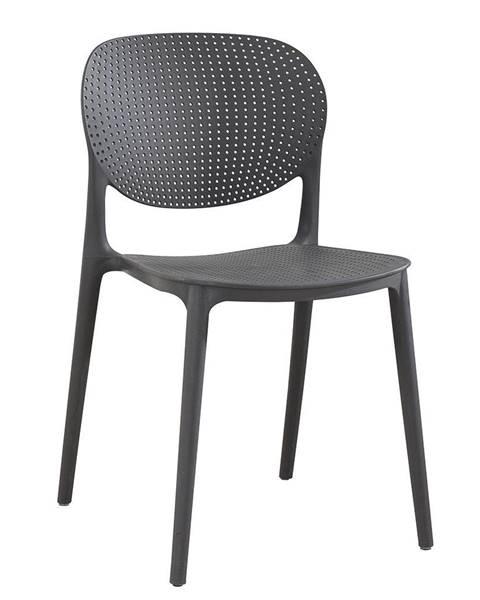 Tempo Kondela Tempo Kondela Zahradní židle Fedra, tmavě šedá