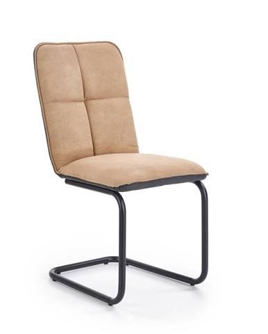 Halmar Jídelní židle K268, světle hnědá