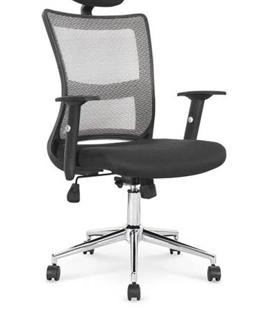 Halmar Kancelářská židle NEON, černá/šedá