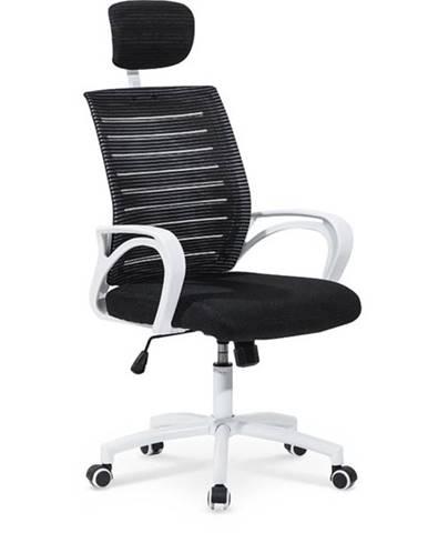 Halmar Kancelářská židle SOCKET, černá/bílá