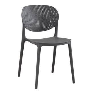 Tempo Kondela Zahradní židle Fedra, tmavě šedá