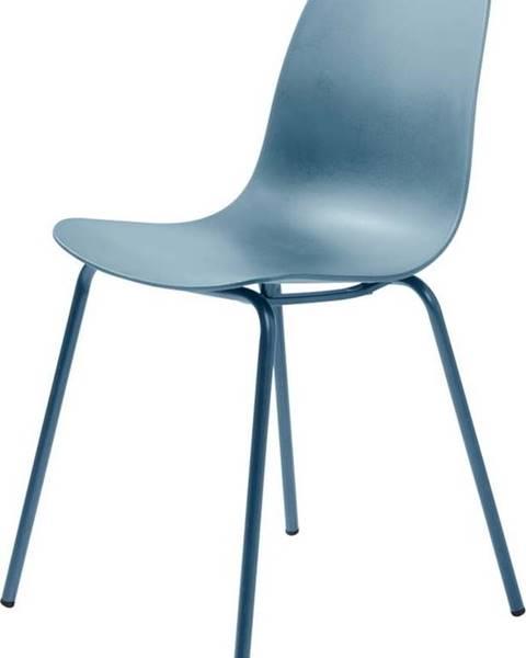Unique Furniture Sada 2 šedomodrých židlí Unique Furniture Whitby