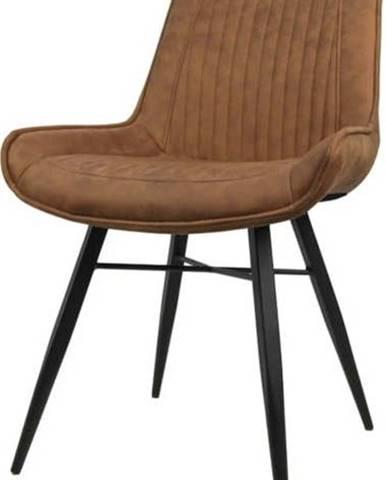 Koňakově hnědá jídelní židle HSM collection Denver