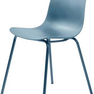 Sada 2 šedomodrých židlí Unique Furniture Whitby