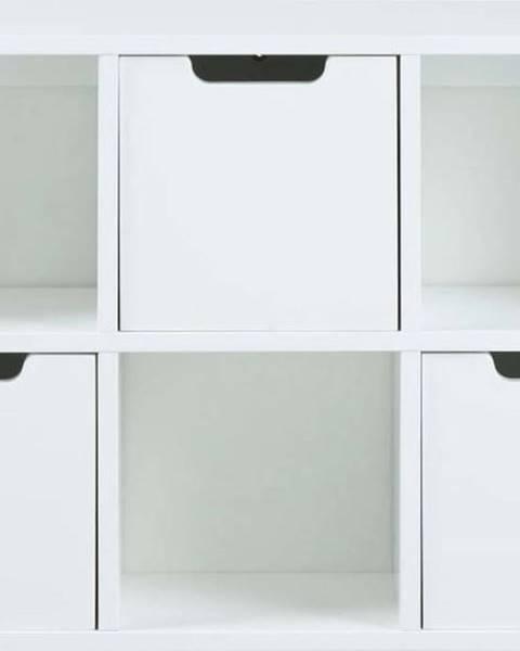 Actona Bílý nástěnný úložný systém Actona Mitra