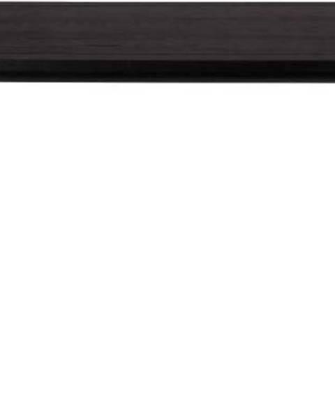 Zuiver Černý jídelní stůl Zuiver Storm, 180x90cm