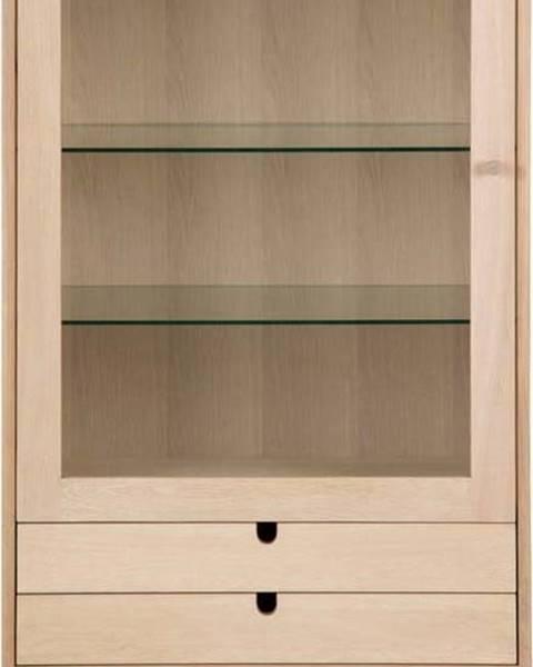 Actona Prosklená vitrína s 2 šuplíky Actona Century