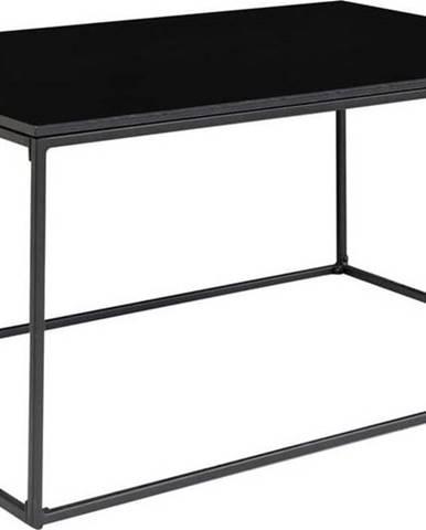Černý konferenční stolek House Nordic Vita, 90 x 60 cm