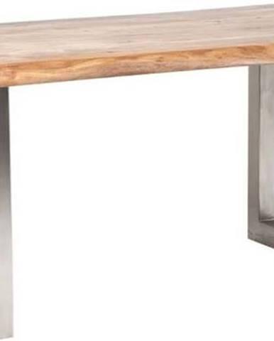 Jídelní stůl s deskou z akáciového dřeva Kare Design Pure, délka195cm