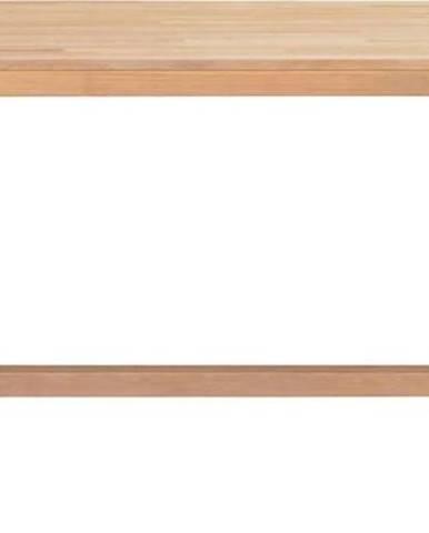 Jídelní stůl z broušeného dubového dřeva Rowico Brooklyn, 170 x 95 cm