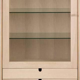 Prosklená vitrína s 2 šuplíky Actona Century