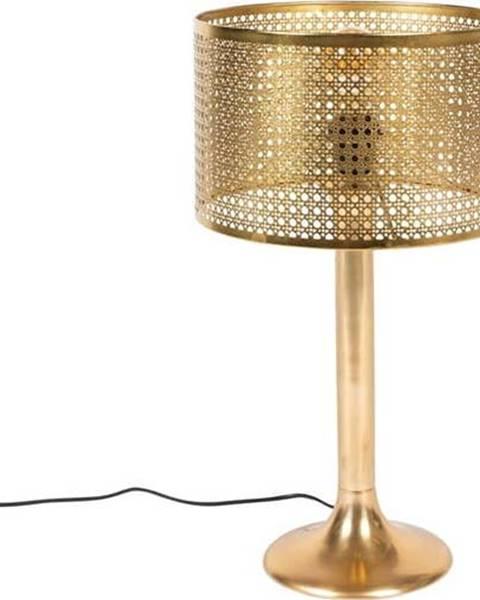 Dutchbone Stolní lampa ve zlaté barvě Dutchbone Barun