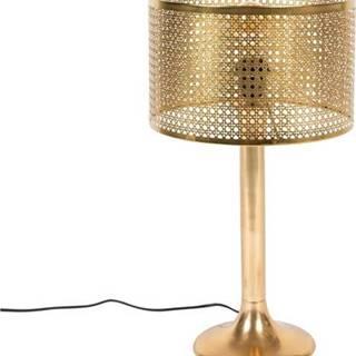 Stolní lampa ve zlaté barvě Dutchbone Barun