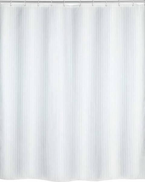 WENKO Bílý sprchový závěs Wenko Palais, 180 x 200 cm