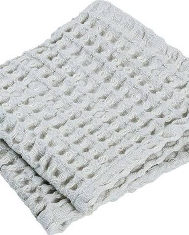 Sada 2 světle modrých bavlněných ručníků Blomus Micro Chip, 30 x 30 cm