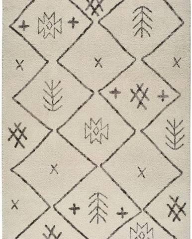 Béžový koberec Universal Marakesh Print, 140 x 200 cm