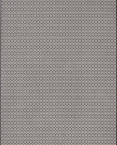 Černo-bílý venkovní koberec Bougari Coin, 160x230cm