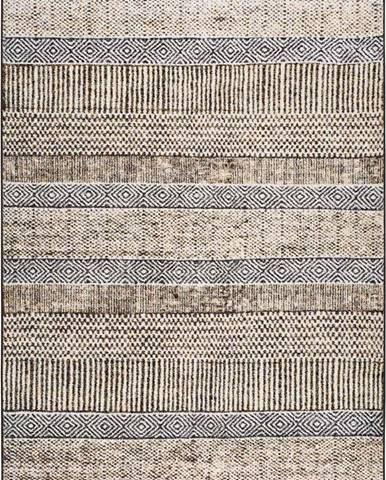 Šedý koberec Universal Shiraz, 80 x 150 cm