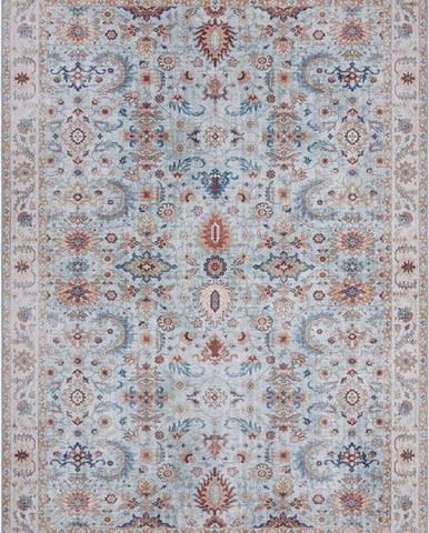 Modro-béžový koberec Nouristan Vivana, 200 x 290 cm