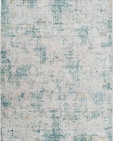 Šedo-modrý koberec Universal Babek, 160 x 230 cm