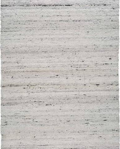 Světle šedý koberec z recyklovaného plastuUniversal Cinder, 200 x 300 cm