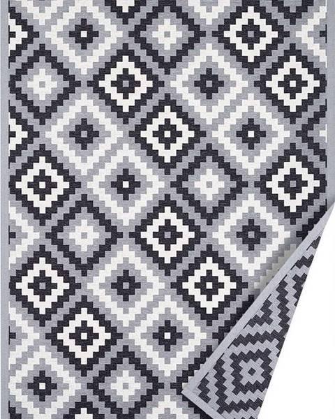 Narma Šedý oboustranný koberec Narma Saka, 70 x 140 cm