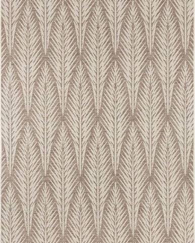 Hnědobéžový venkovní koberec Bougari Pella, 70 x 140 cm