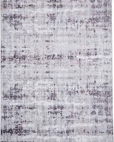 Šedý koberec Floorita Abstract, 120 x 180 cm