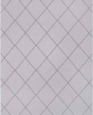 Šedý venkovní koberec Ragami London, 120 x 170 cm