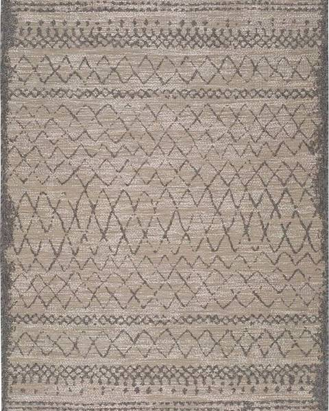 Universal Béžový venkovní koberec Universal Devi Line, 120 x 170 cm