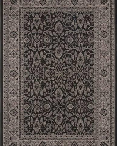 Černo-béžový venkovní koberec Bougari Konya, 140 x 200 cm